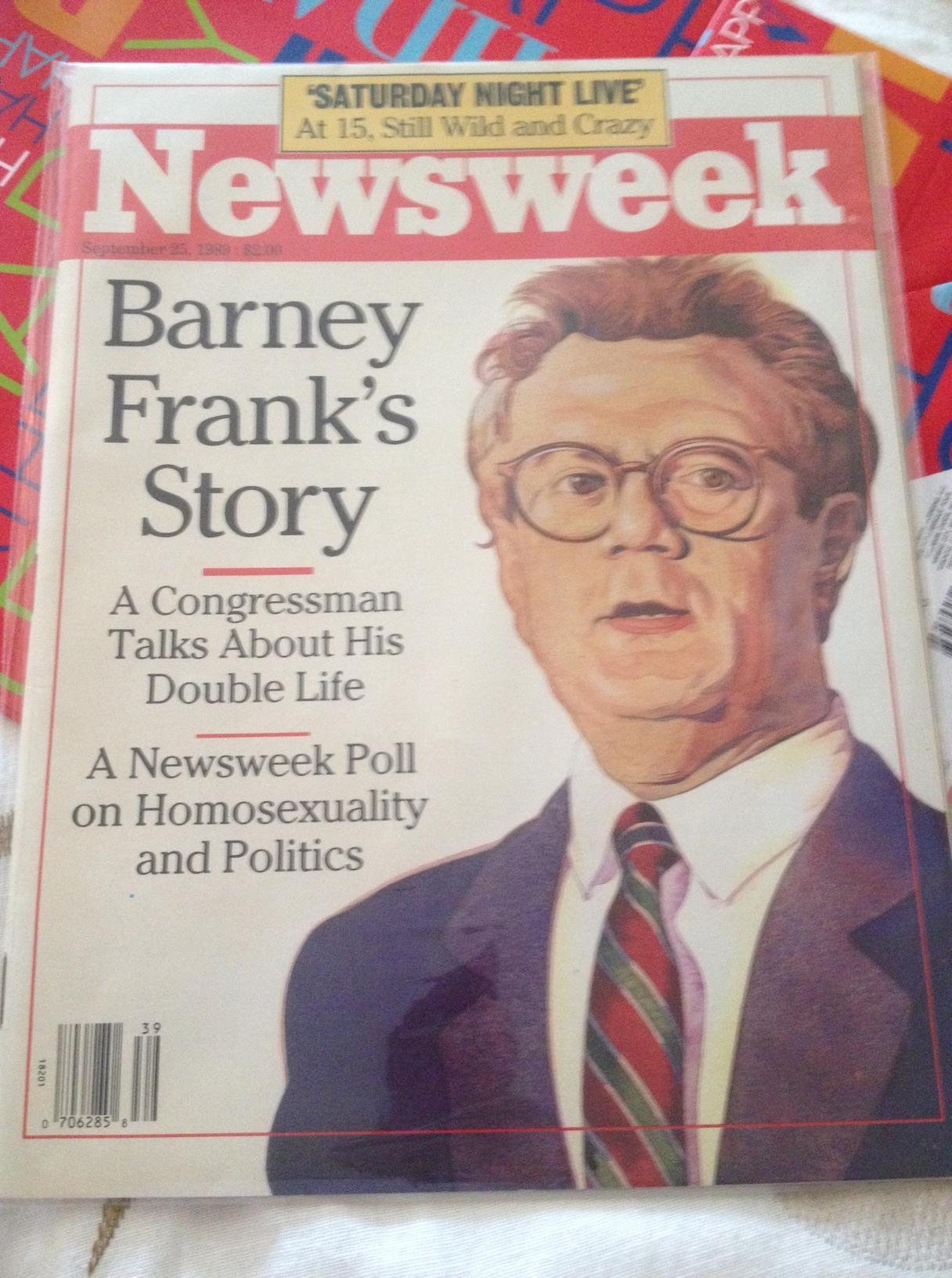 Barney frank sex